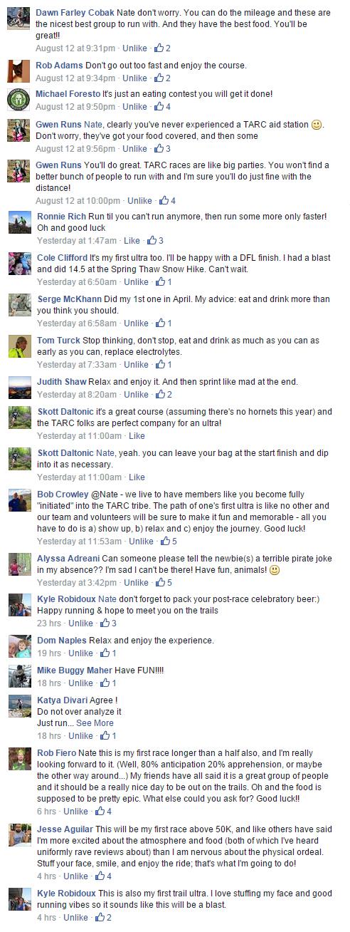 TARC responses